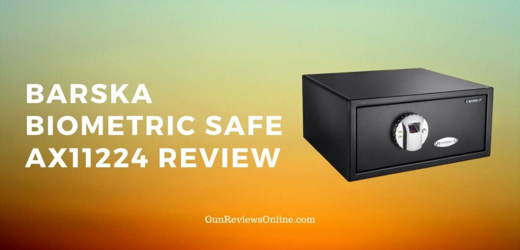 BARSKA Biometric Safe AX11224 Review