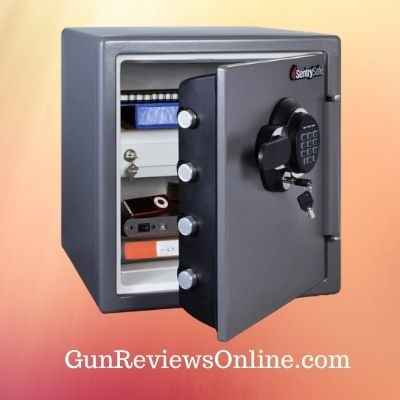 Sentry Safe Fireproof Safe and Waterproof Safe with Digital Keypad