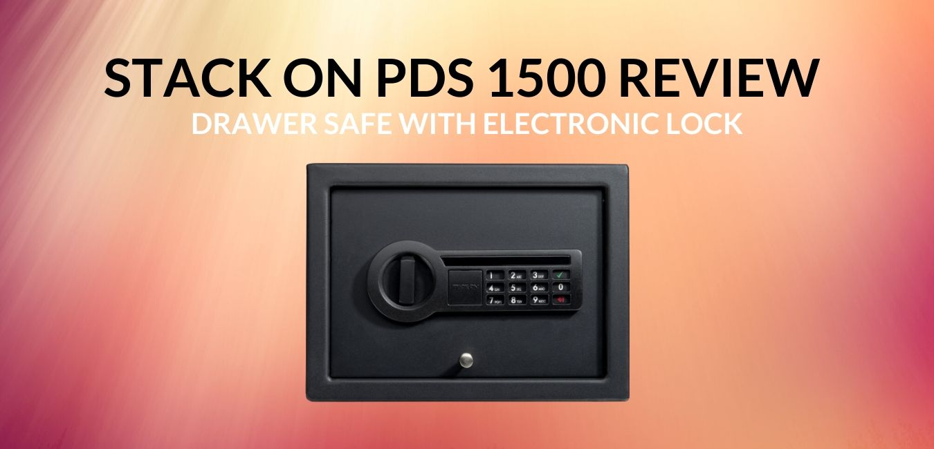 Stack On PDS 1500 Review Drawer Safe with Electronic Lock