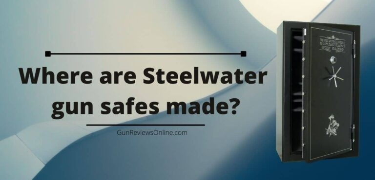 where are steelwater gun safes made
