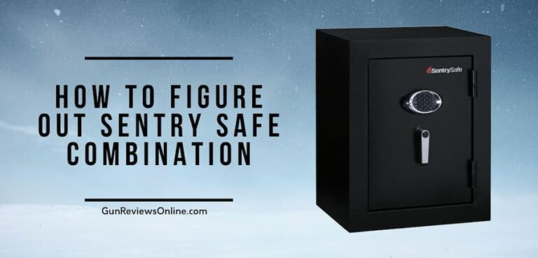 How to Figure out Sentry Safe Combination