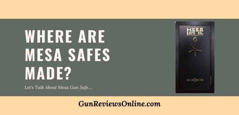 Where are mesa safes made